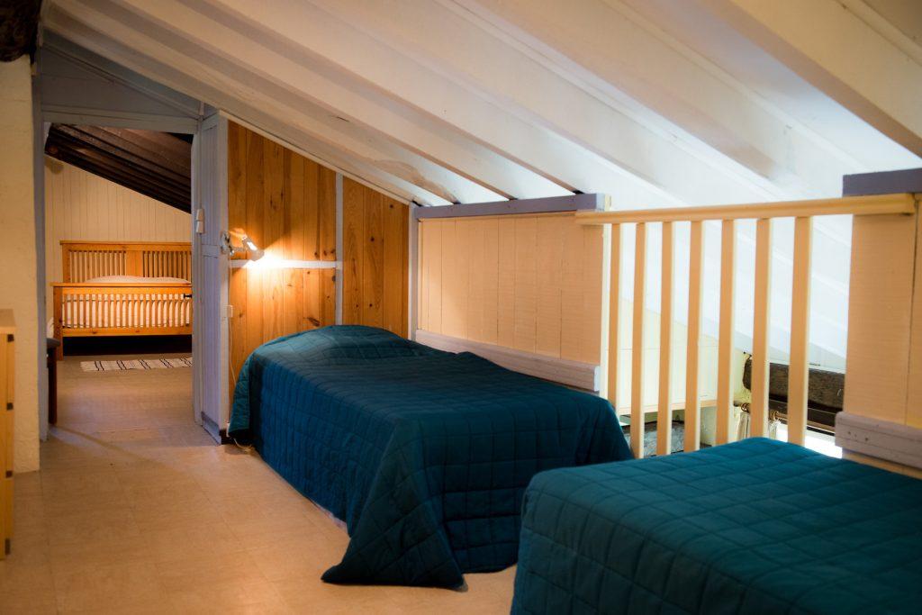 Corbieres twin sleeping area