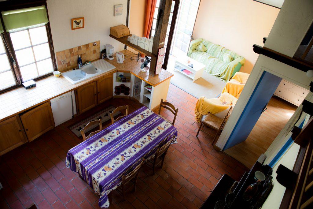 Minervois open plan living area