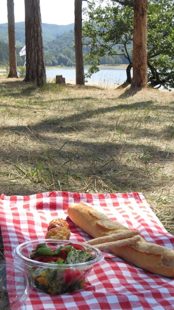 Picnic at Lac Saint Ferreol